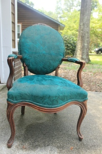 The Teal Chair
