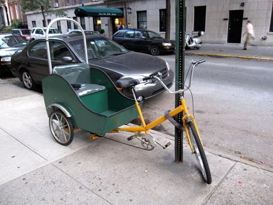 Beavan's bike